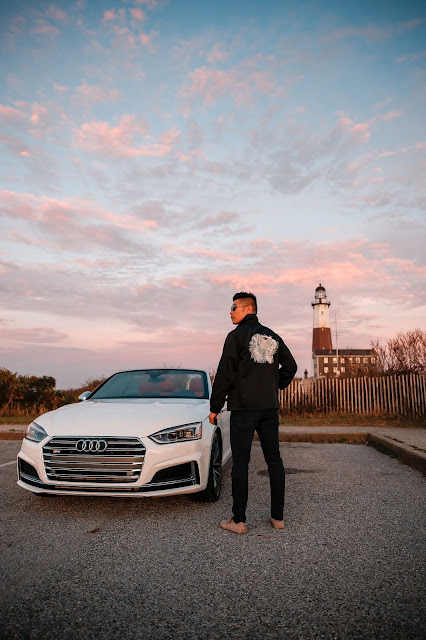 Marc Jacobs Jacket, Audi S5, Hamptons
