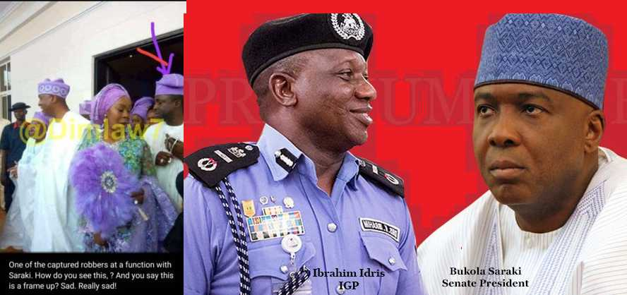 Offa Bank Robbers Attended Saraki's Daughter's Wedding, 1 Wore Aso Ebi - Police (Pic)