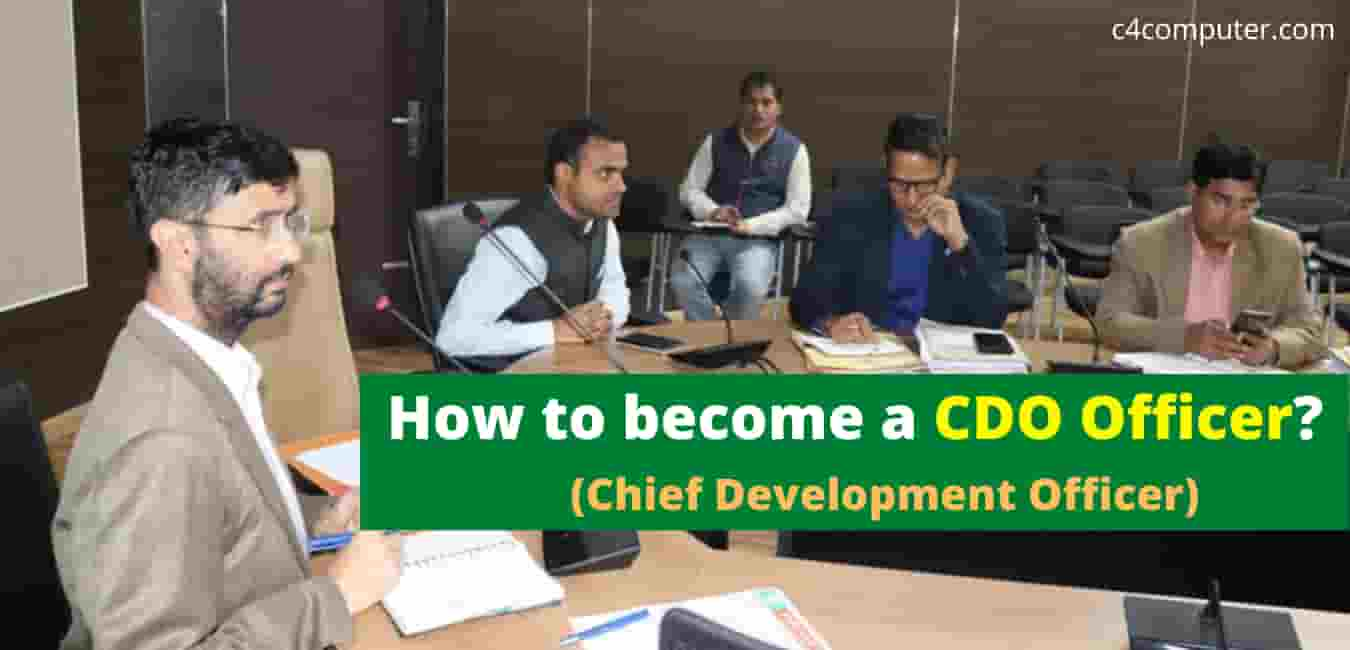 How to become a CDO Officer