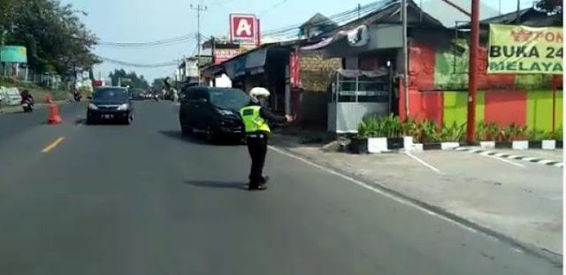 Heboh Mobil Plat Polisi Ugal-ugalan di Puncak, Kapolres Sebut Platnya Palsu