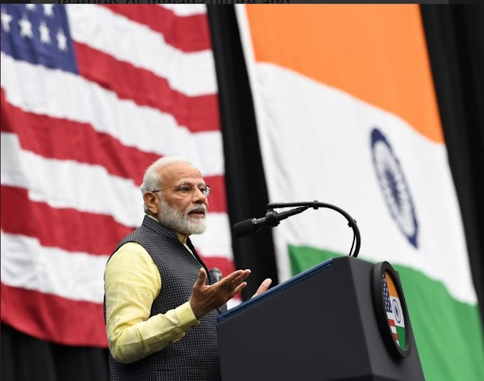 Video: PM Modi receives the grand welcome at NRG stadium at Howdy Modi event