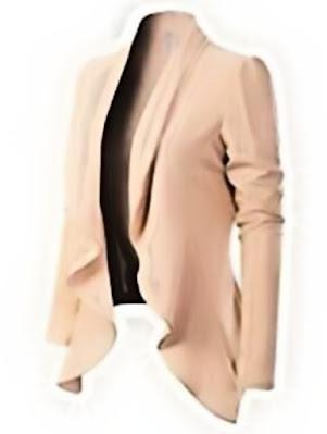 MixMatchy Women's USA Formal Style Long Sleeves Blazer
