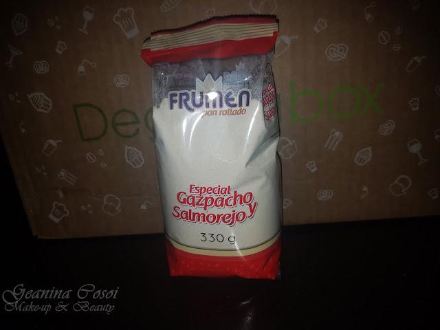 Pan rallado para gazpacho Frumen Degustabox Junio´17 ¡VERANO!