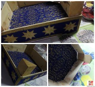 Decorar la caja paso 2