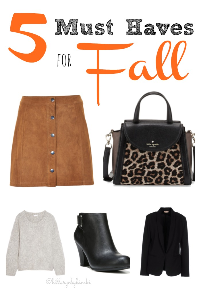 5 Fall Fashion Ideas for Women