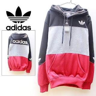 Jaket & Sweater Fleece Hoodie Adidas ADS012