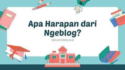harapan dari ngeblog