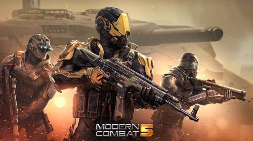 تحميل لعبة Modern Combat 5 لعبة القتال والمغامرات
