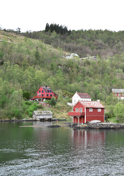 Wie auf einer Postkarte - die schönste Seite von Norwegen