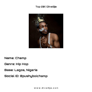 Champ on Top 20 Diva9ja