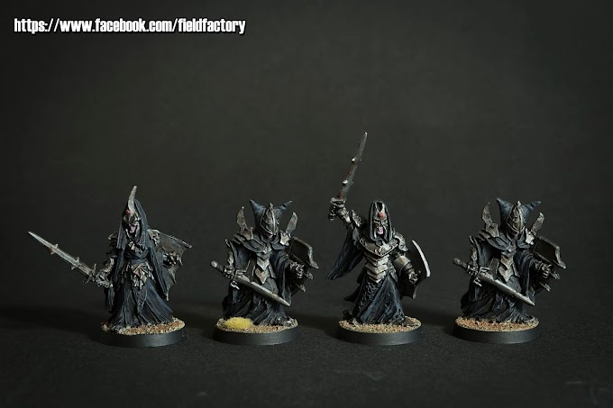 Caballeros de Morgul y Numenoreanos negros.
