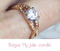 bague My Jolie candle