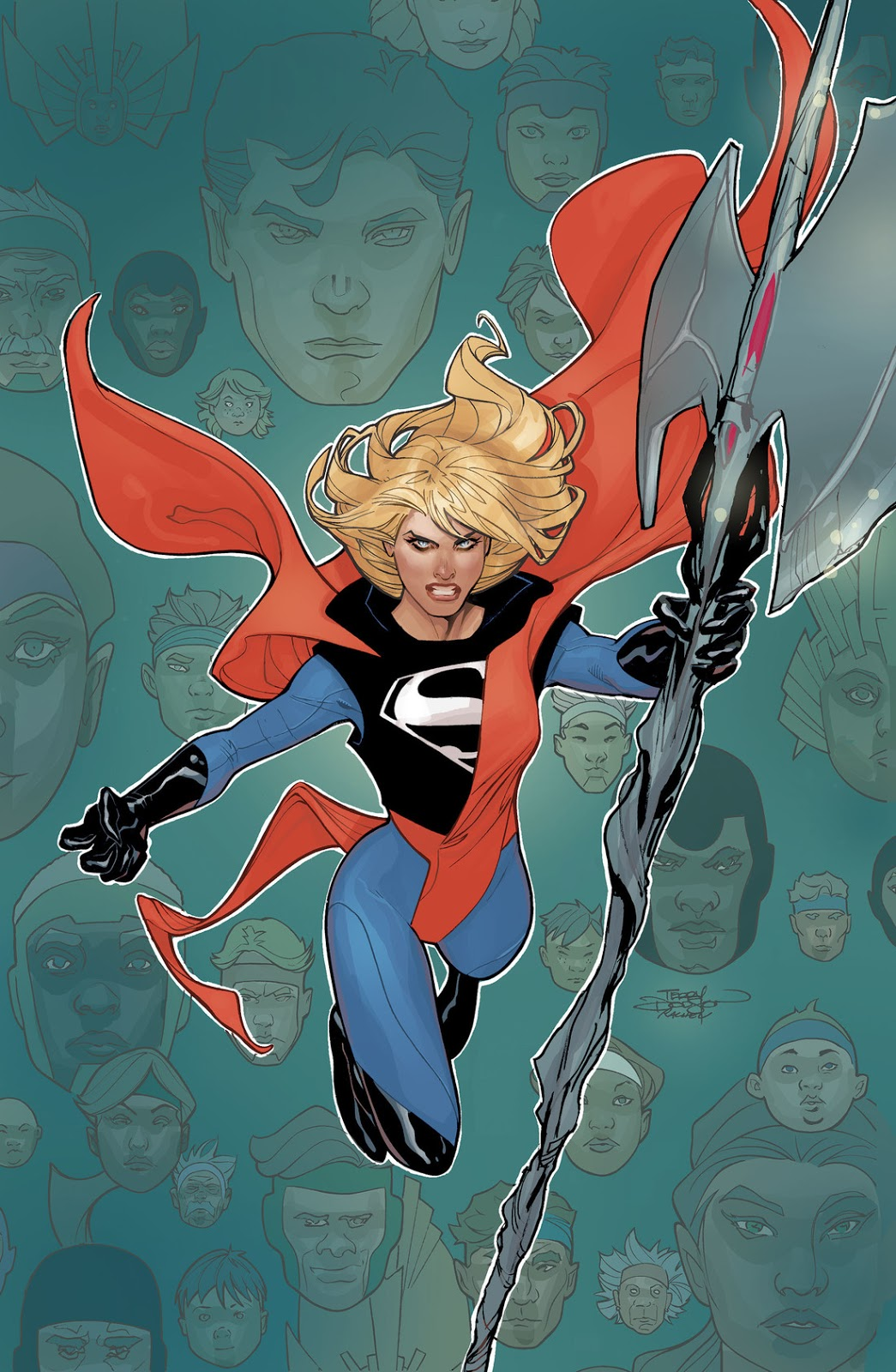 Supergirl Comic Box Commentary: New Creative Team/New Look