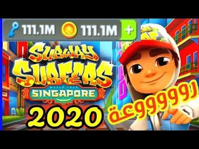 تحميل لعبة صب واي مفتوح كل الشخصيات وأموال لا نهائية Subway اخر اصدار 2020 صبواي الجديده بحجم خفيف