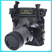 Nikon D5100 D5200 D5300 D5500 underwater housing dry bag