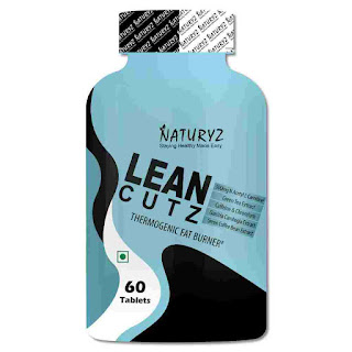 4).Naturyz LEAN CUTZ Thermogenic Fat Burner with Green Coffee Bean Extract and Caffeine