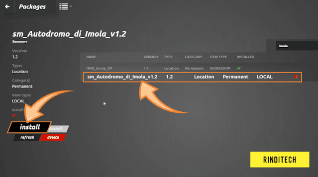 Cara Install Mod Track Sirkuit di rFactor 2 (Tampilan Baru)