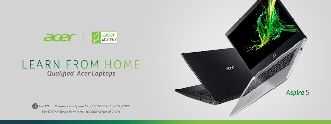 Get up to Php 4,000 off with Acer's Learn From Home Program
