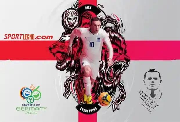 واين روني,كاس العالم 2006,منتخب انجلترا,منتخب انجلترا في كاس العالم