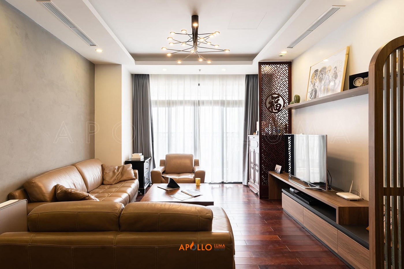 Hình ảnh thực tế nội thất căn hộ 2PN (114m2) R2-07 Royal City