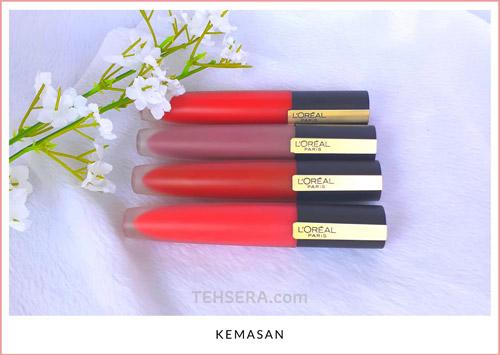 kemasan rouge siganture loreal paris