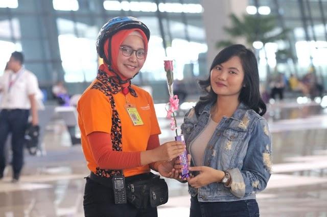 Valentine 2019  Bandara Soekarno Hatta Jadi Romantis