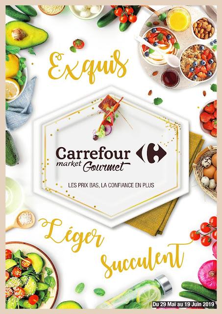 catalogue carrefour market gourmet juin 2019