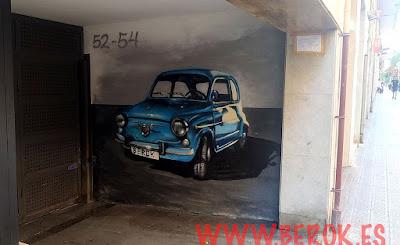 Graffitis en puertas de garaje