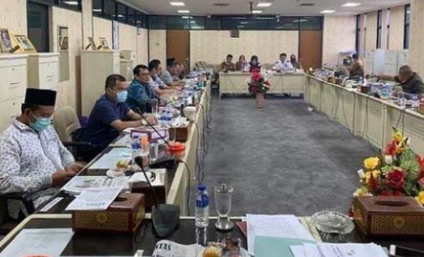 Rapat Dengar Pendapat Komisi IV Dengan Dinas Perhubungan, Tidak Ada Lockdown di Lampung Anggaran Jadi Rp135 Miliar