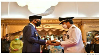 Rudy Djamaluddin Resmi Jabat Walikota Makassar