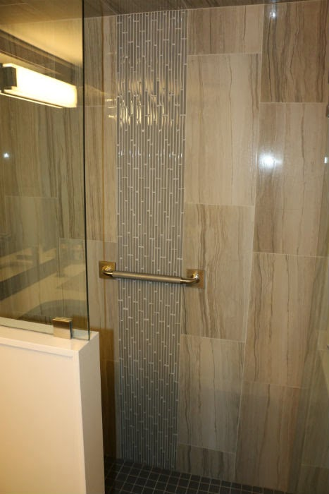 Shower Tile Inlay