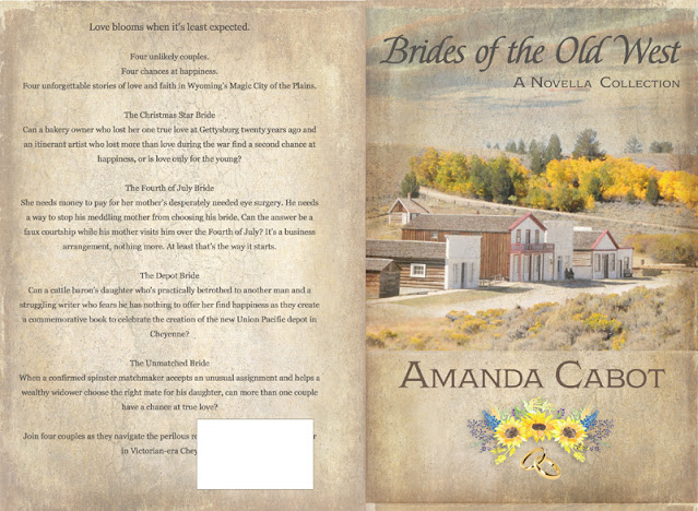 Original Print Cover - Brides of the Old West