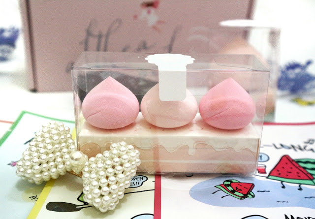 ALTHEA A'Bloom Baby Meringue Puff Packaging