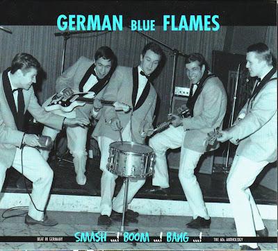 German Blue Flames - Beat In Germany (Smash Boom Bang,)