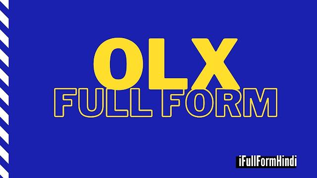 OLX Full Form