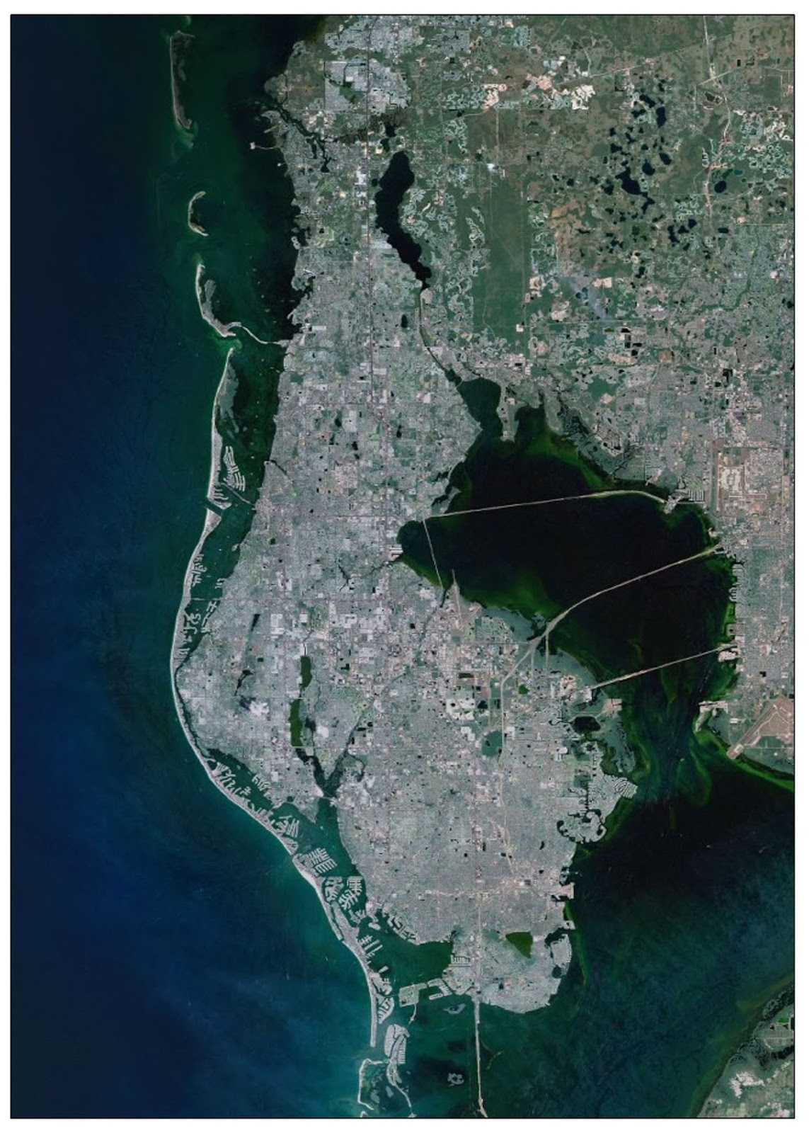 west of lake in the northern portion of the map it is in a part of florida where natural sinkholes are