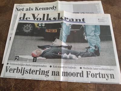 Volkskrant 7 mei 2002 Fortuyn vermoord