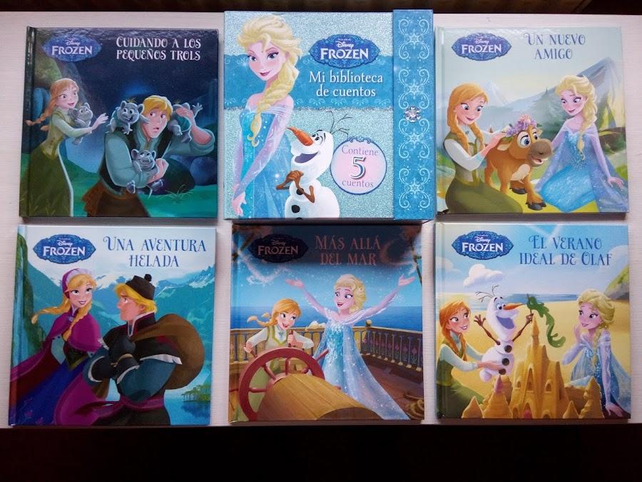 Caja con 5 cuentos Frozen Disney