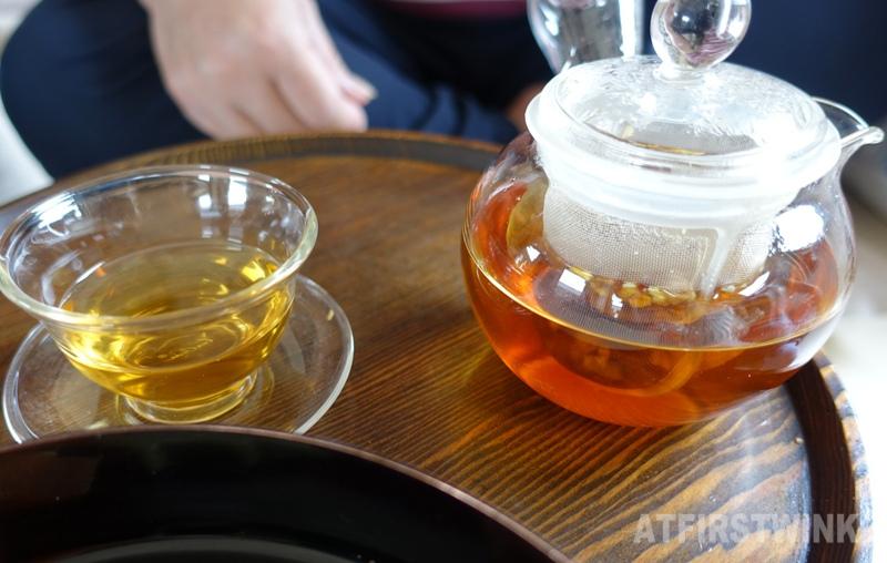 Saenggwabang in Gyeongbokgung palace royal tea mandarin ginseng samgyulcha