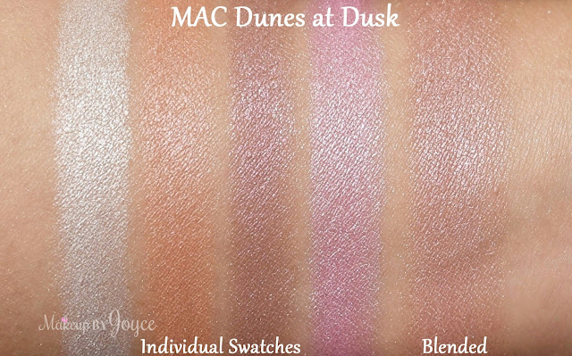 MAC Gleamtones Powder Dunes at Dusk Swatch