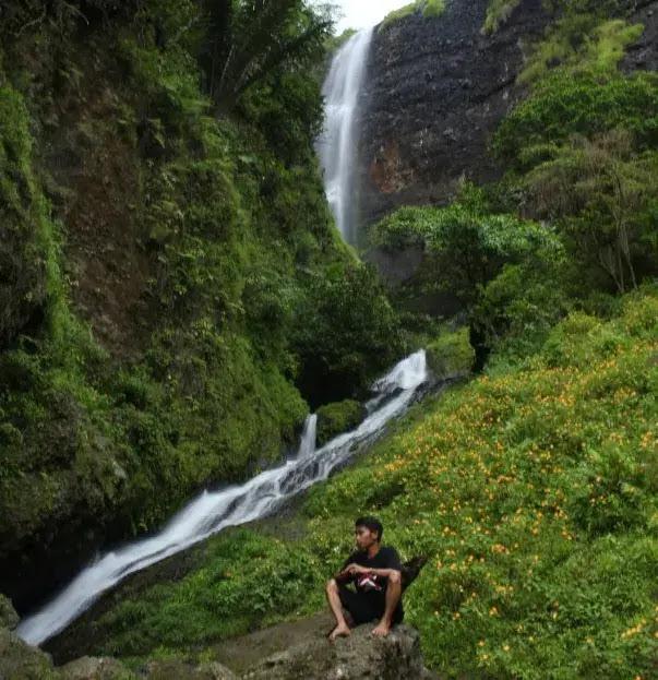 Tempat Wisata Soppeng Air Terjun Laposo