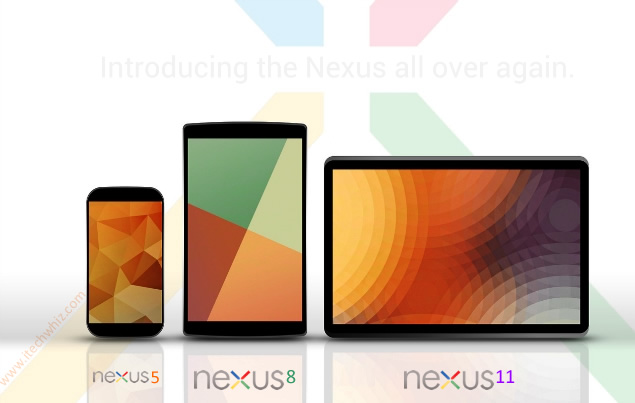 Google Nexus 11 tablet Release Date, Specs and Price