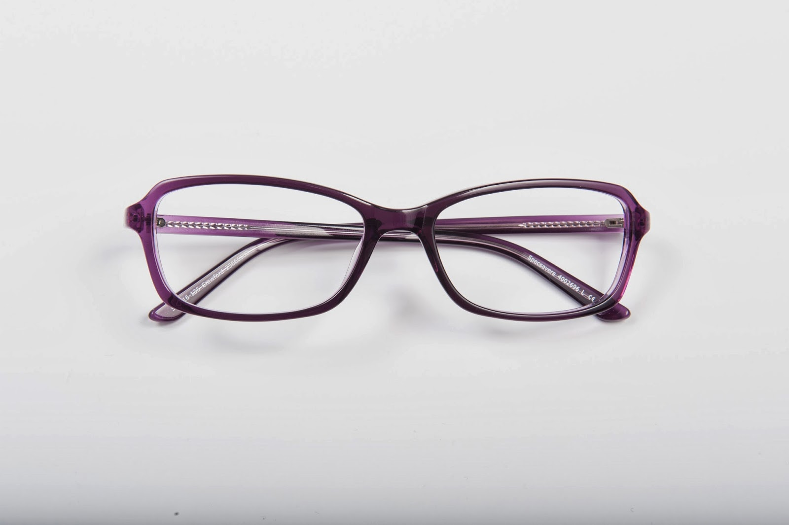 2109b80d04 Specsavers has got a rainbow of colours for its frames. The Crawford ones  with my favourite purple are £ 69.00 and they are part of the offer 2 for 1  so in ...