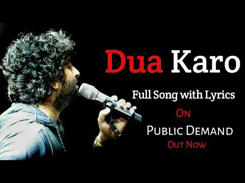 Dua Karo Lyrics Arijit Singh - Street Dancer