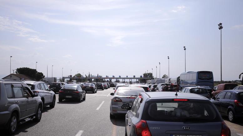 Με χαμηλές ταχύτητες η επιστροφή των εκδρομέων από την Χαλκιδική