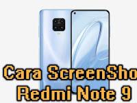 Cara Screenshot di Redmi Note 9