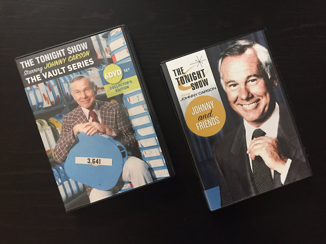 The Tonight Show Starring Johnny Carson DVD sets