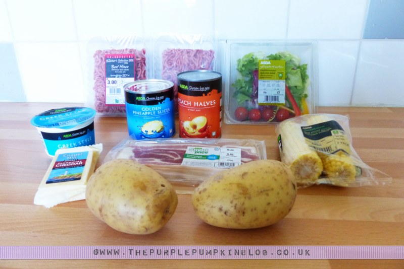 Budget #BBQ for a family of 4 for a tenner! with ASDA & #CBias