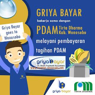 Daftar Griya Bayar PDAM Tirta Dharma Kabupaten Wonosobo