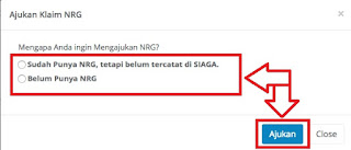 Ajukan Klaim NRG